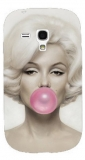 Kryt Marylin Monroe Pink Bubble pro  Samsung galaxy S3 mini