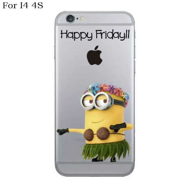 Kryt pro Iphone 4 4S - Mimoň Happy Friday!  a3a1fe9ee54