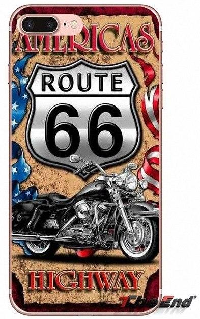 Kryt pro Iphone  8 - Route 66