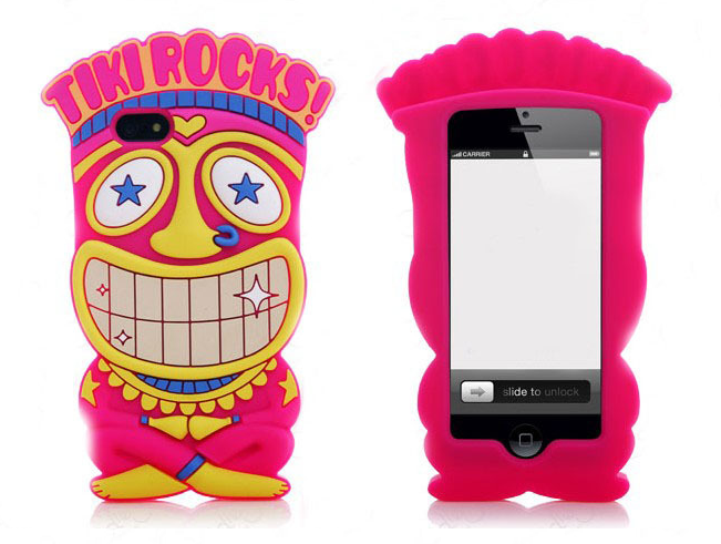 Kryt Iphone 5 - TIKI ROCKS