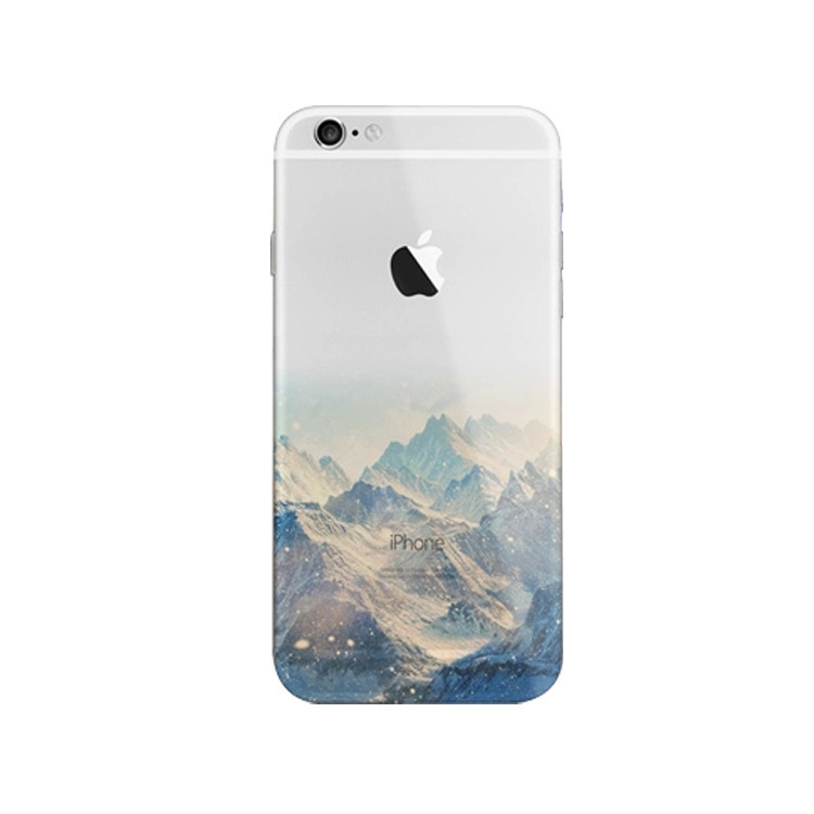 Kryt na Iphone 5 5S SE - Hory  088521289bb