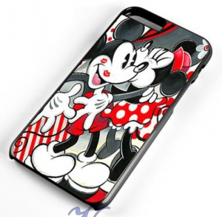 Kryt pro Iphone 5/5S - Mickey a Minnie
