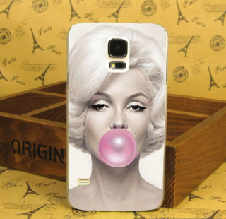 Kryt Marylin Monroe Pink Bubble pro Samsung galaxy S5