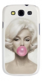 Kryt  Marylin Monroe Pink bubble pro Samsung galaxy S3